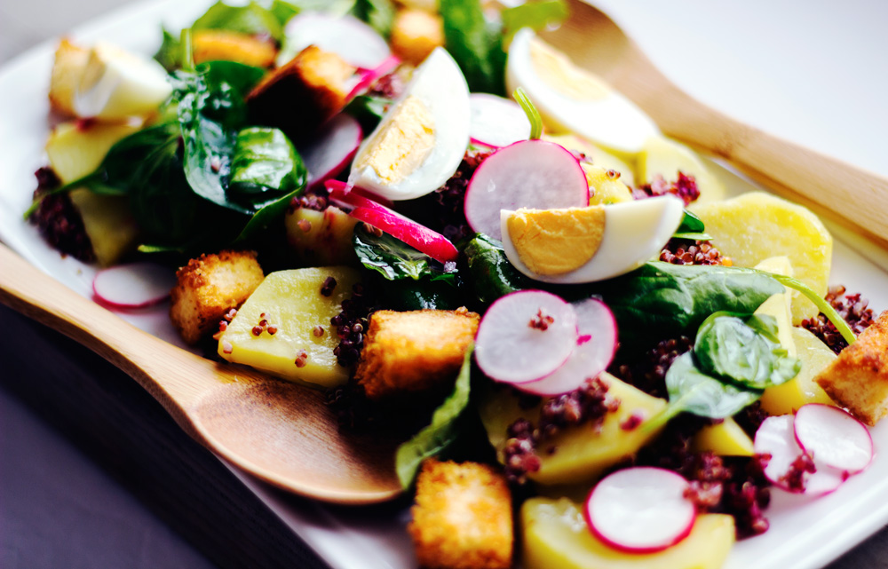 Hungry + Hurry + Healthy, Radish salad, Copyright aldentegourmet blog