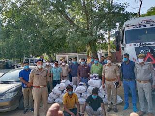 कोतवाली उरई पुलिस, SOG व सर्विलांश सेल की संयुक्त टीम द्वारा 2 शातिर अन्तर्राजीय गांजा तस्करों को गिरफ्तार किया -पुलिस अधीक्षक जालौन