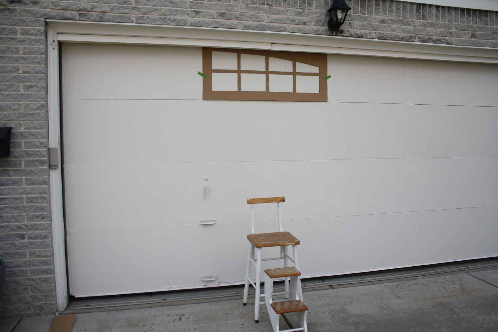 Ballin With Balling Garage Door Facelift For Less Than 20