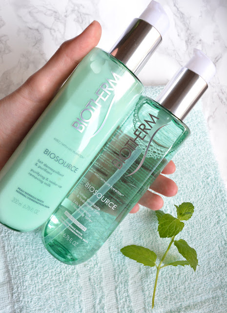 Biotherm Biosource Cleansing Milk and Toner
