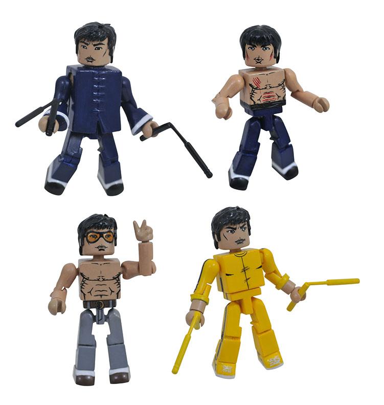 various colors 633ff cf49e Bruce Lee Minimates Series 1 Box Set