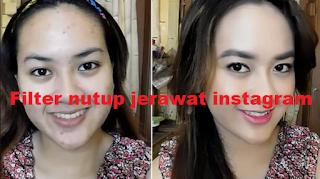 Filter jerawat instagram | Cara dapatkan efek ig jerawat