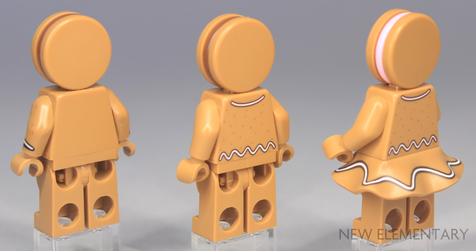 Medium Azure 1 Pair Lego Minifig Arms x 2