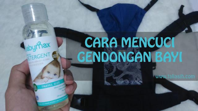 Cara Mencuci Gendongan Bayi