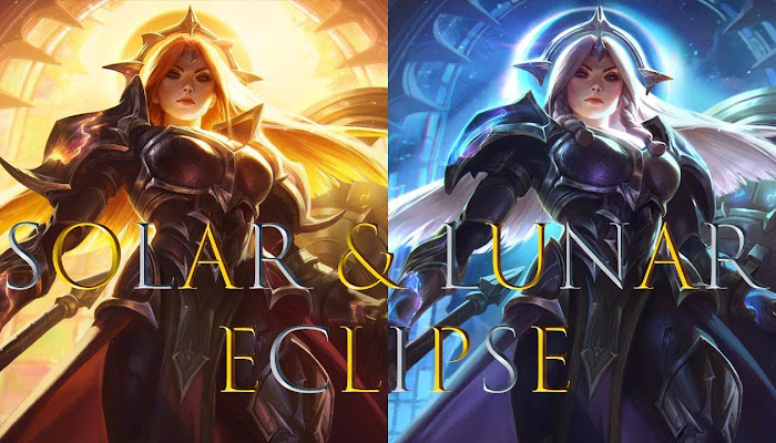 Leona: Solar & Lunar Eclipse - Login Screen - League of Legends | LoL