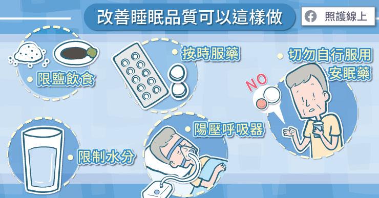協助心臟衰竭患者改善睡眠品質