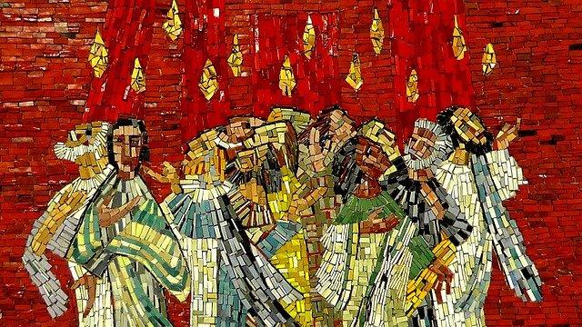 Mosaic of Pentecost