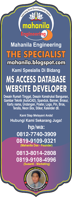 Kharisma Computer HP/WA : 081277403909 (Mahanila das)