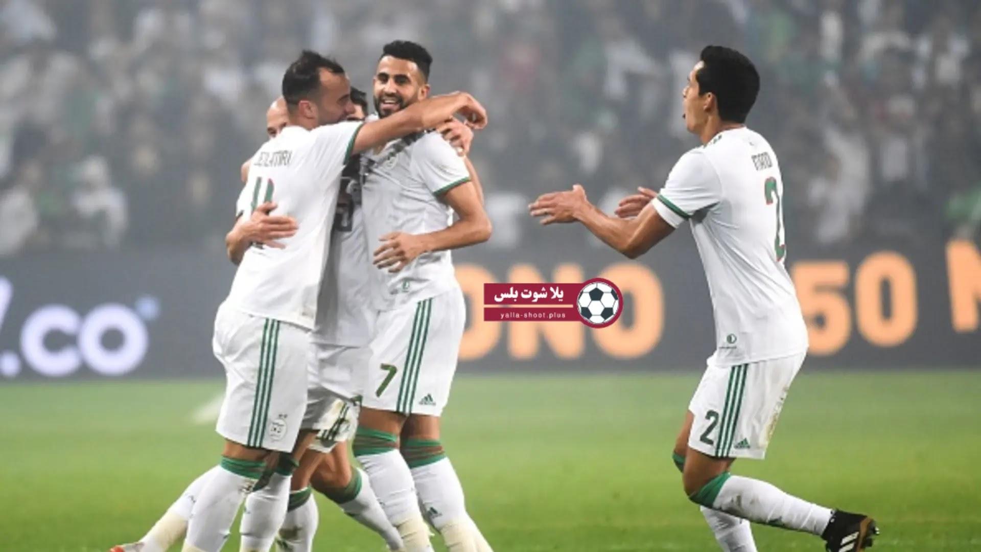 موعد مباراة المنتخب الجزائري ضد زامبيا في تصفيات كأس امم افريقيا