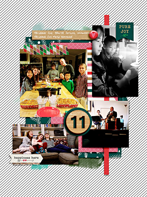 Day 11 - 12 Memories of Christmas Scrapbook Album