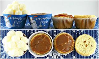 """Cupcake """"Bataille de Boules de Neige"""""""