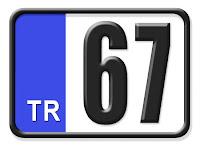 67 Zonguldak Plaka Kodu