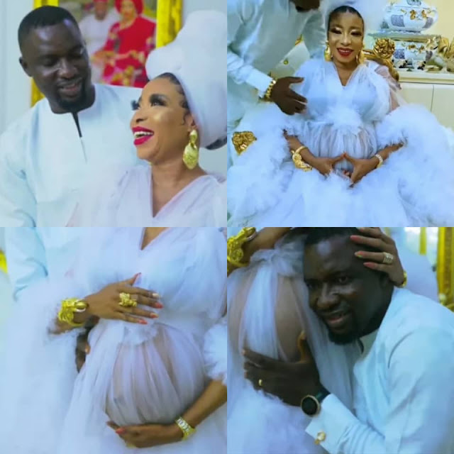 Actress Lizzy Anjorin and her husband welcome their first child In US  (photos)