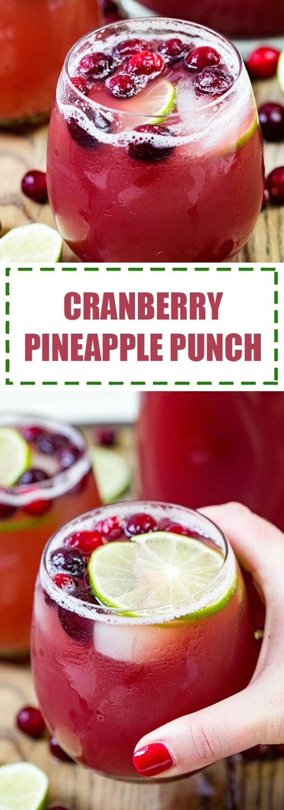 Cranberry & Pineapple Punch