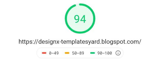 DesignX Responsive Personal Blog Blogger Template Theme