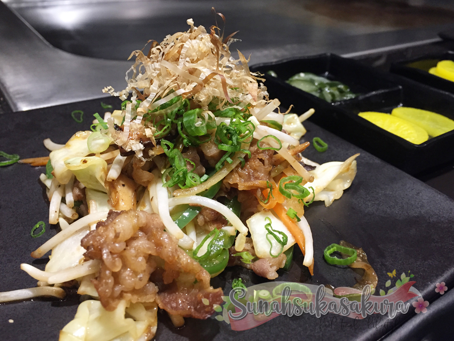 Teppanyaki Premium Set Lunch Berbaloi-baloi, RM58 je di Awagyu Restaurant Johor Bahru