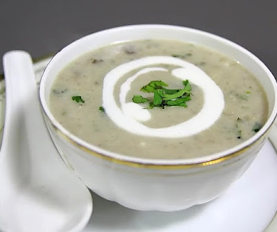 how to make mushroom soup at home