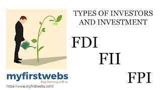 What is the meaning of FII FDI and FPI ?