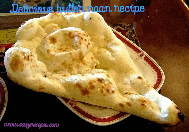 Delicious butter naan recipe – How to make butter naan at home