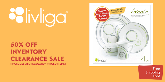 Livliga's Clearance Sale Continues thru Sept 30!
