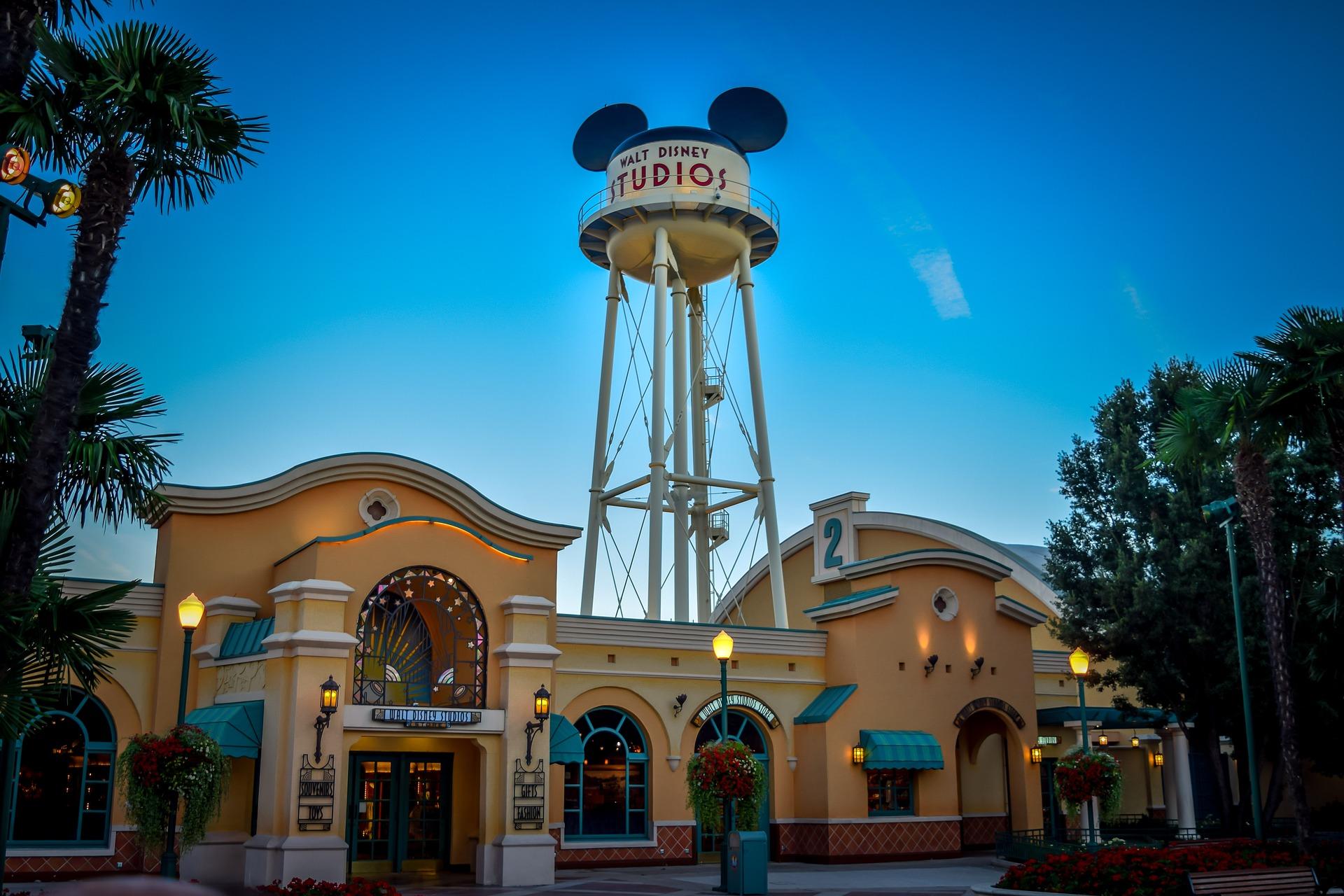 Hollywood Studios caixa d'água