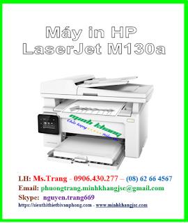 máy in  đa chức năng giá rẻ nhất HP Pro m130a