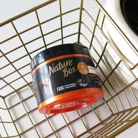 Plaukų kaukė su abrikosų aliejumi NATURE BOX Apricot 200 ml