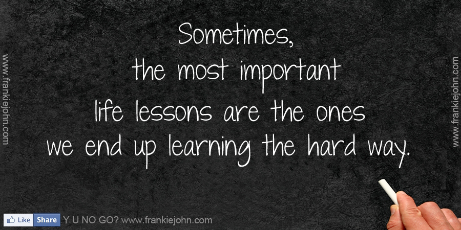 The twelve most important lessons