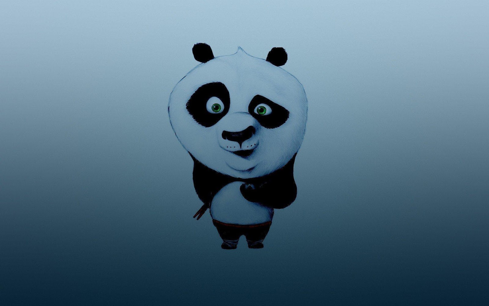 Funny panda Art Wallpapers
