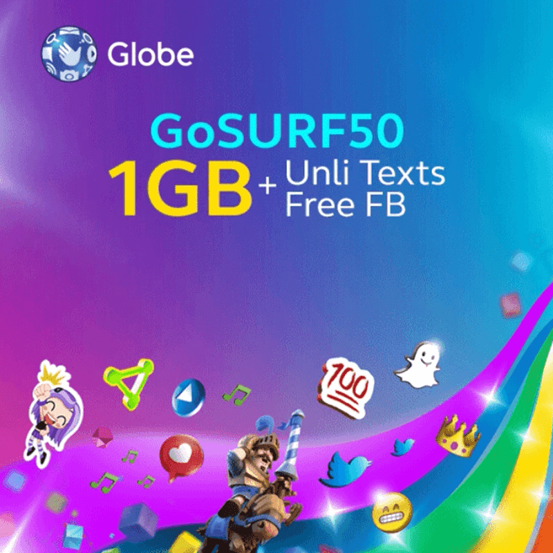 Globe's new GOSURF50 (GS50)