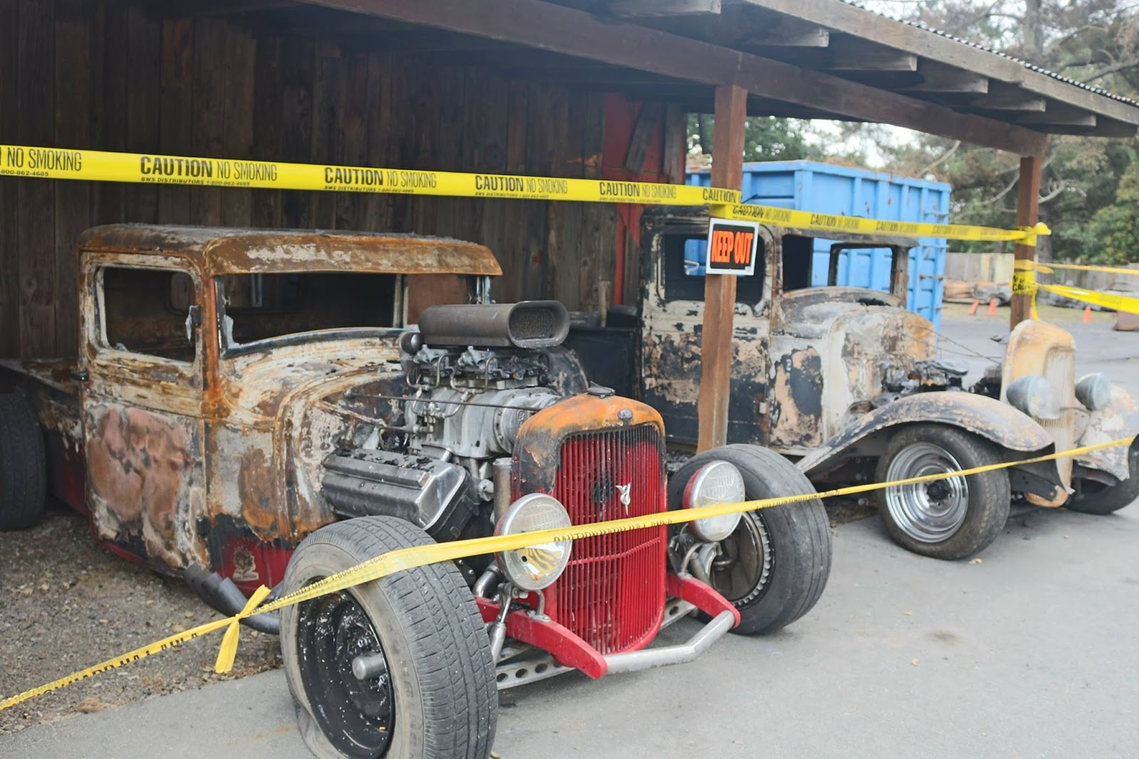 Just A Car Guy: some of Fred\'s car collection were burned bad in a ...