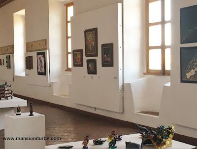 Exposición ARARTE en el Centro Cultural Antiguo Colegio Jesuita de Pátzcuaro
