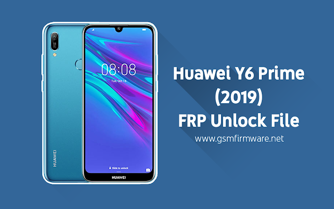 Huawei Y6 Prime (2019) FRP Unlock File [SP Flash Tool]