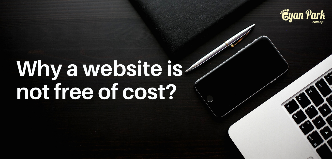 GyanPark's Reasons behind Why creating the website is not a free of cost?