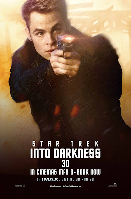 Star Trek Into Darkness Kirk played by Chris Pine Character Poster