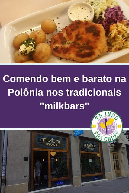 """Onde comer bem e barato na Polônia - os tradicionais """"milkbars"""" da época socialista"""