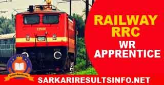 Railway RRC WR Apprentice