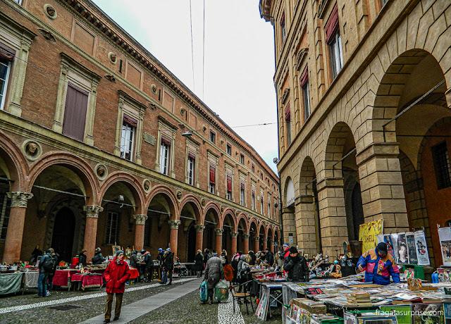 Feira de Antiguidades de Santo Stefano, em Bolonha