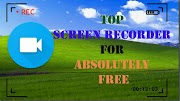 Best Screen Recording Software Absolutely Free