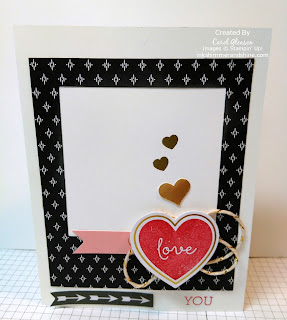 Stacked With Love card with Paper Pumpkin Heart