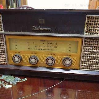 radio nóng đèn Delmonico