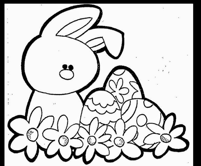 Cute Easter Bunny Colouring 2016 Coloring Pages Printable | 639x775