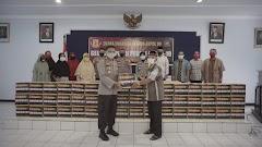 Alumni Akpol 1999 Endra Dharmalaksana Bagikan Ribuan Paket Sembako di Jawa Tengah