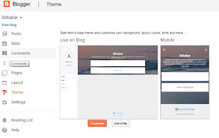 how to download free template for blogger