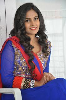 Actress Chandini Pictures in Salwar Kameez at Kalyan Cine Creations Movie Launch  0026.jpg