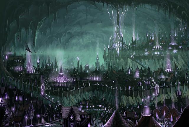 Los Elfos, Tejedores de Magia Ancestral y Sombras de los Bosques - Elfos Drow