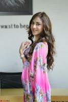 Angela Krislinzki Rogue Movie Fame Telugu Actress in Saree Backless Choli 087.JPG