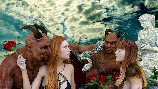 半獣人『パン(パーン)』とは?笛の悲しいギリシャ神話物語