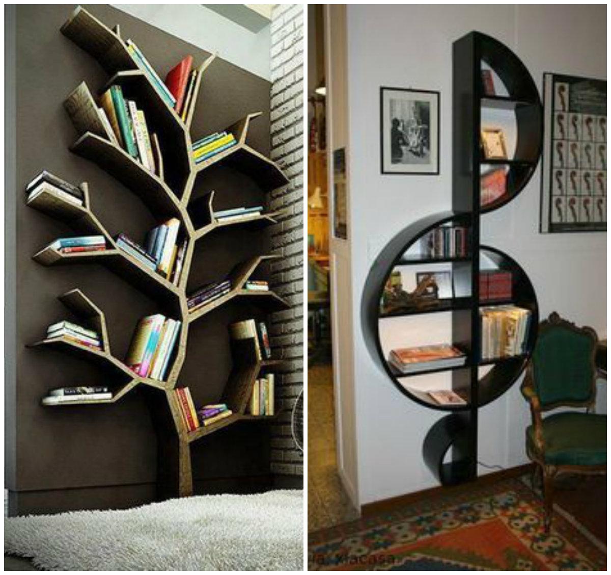 Inspira o estante de livro criativa pequenas infinidades - Para guardar cds ...
