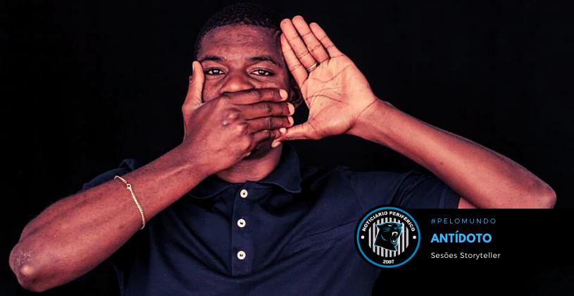 """Direto de Huambo, Angola, o rapper e poeta Antídoto apresenta: """"Sessões Storyteller"""""""